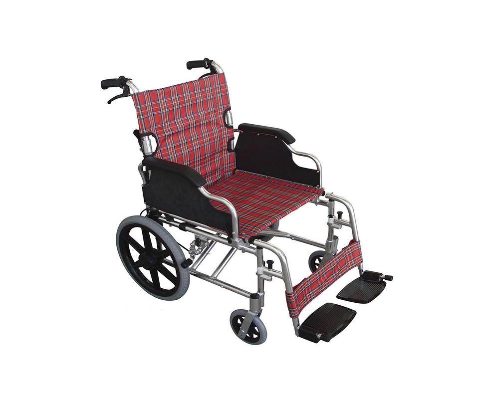 Silla de ruedas de traslado de lujo de aluminio mobicare venta de sillas de ruedas - Silla de traslado ...